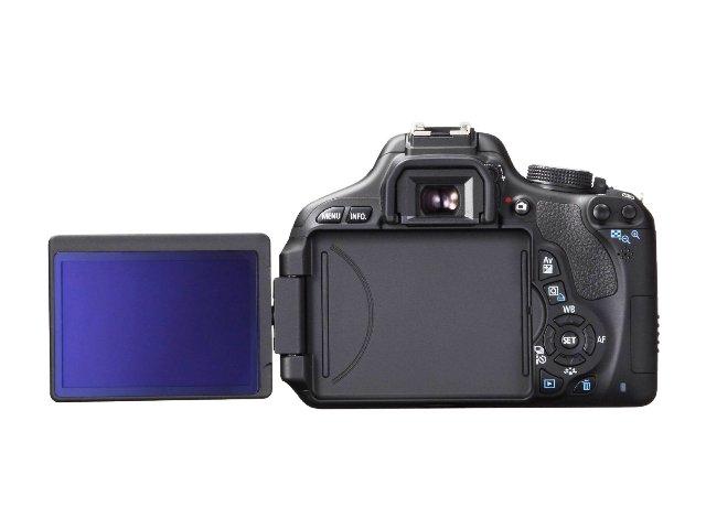 Canon EOS 600D SLR mit schwenkbarem Display