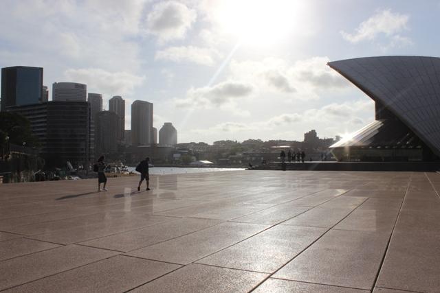 Sydney Opera House aus verschiedenen Kameraeinstellungen