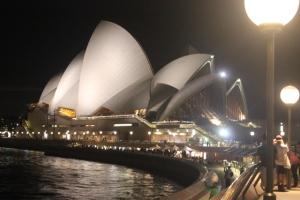 Opera House Nachtbild