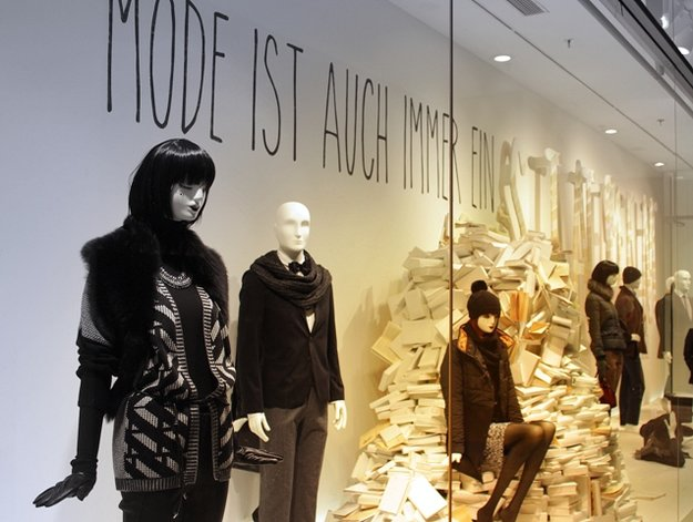 Mode wohin man sieht