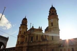 München mit Kirche