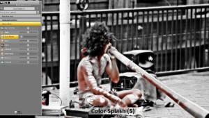 Magix Fotomanager für Color Splash Effekte