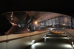 BMW Welt ohne Blendeneinstellung