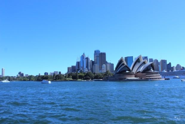 auf der Fähre vor Sydney