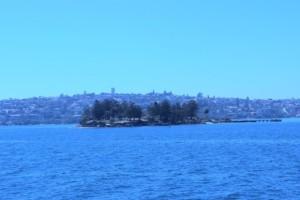 kleine Insel in Sydney
