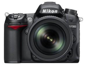 Nikon D7000 Vorderansicht