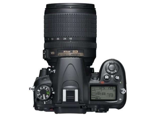 Nikon D7000 von oben