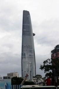 Bitexco Tower in Saigon