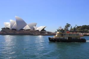 Opera House mit Fähre