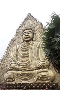 Suoi Tien Freizeitpark Statue im Park