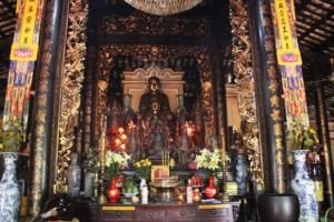 Tempel in Saigon