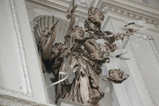 St. Michael Figur