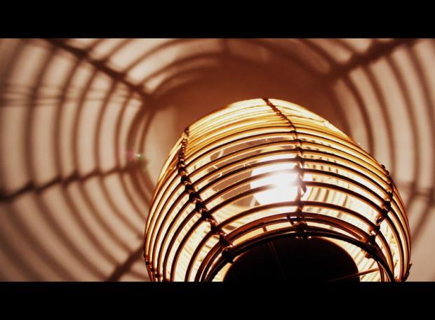 Lampe im Netz