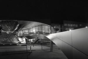 BMW Welt bei Nacht