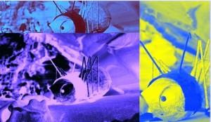 Pop Art Effekt Collage