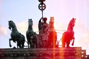 Brandenburger Tor mit Effekten