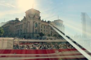an der Spree vor dem Bundestag