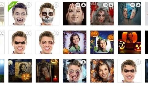 Bildbearbeitung Halloween
