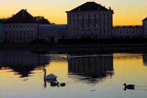 Nymphenburger Schloss - am Kanal