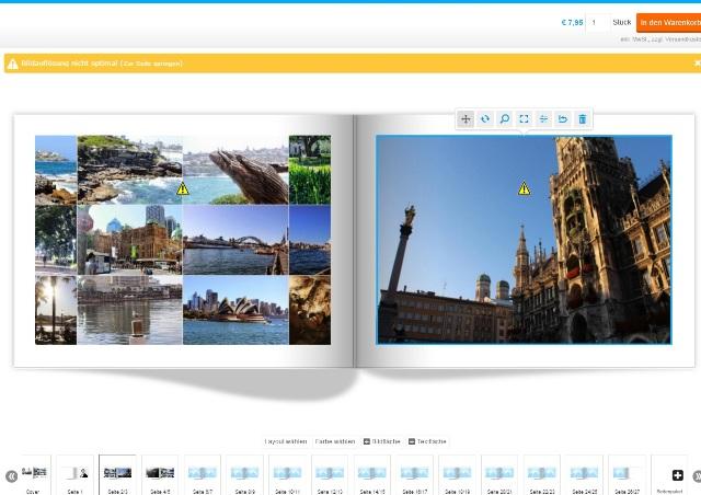 Pixum Fotobuch gestalten