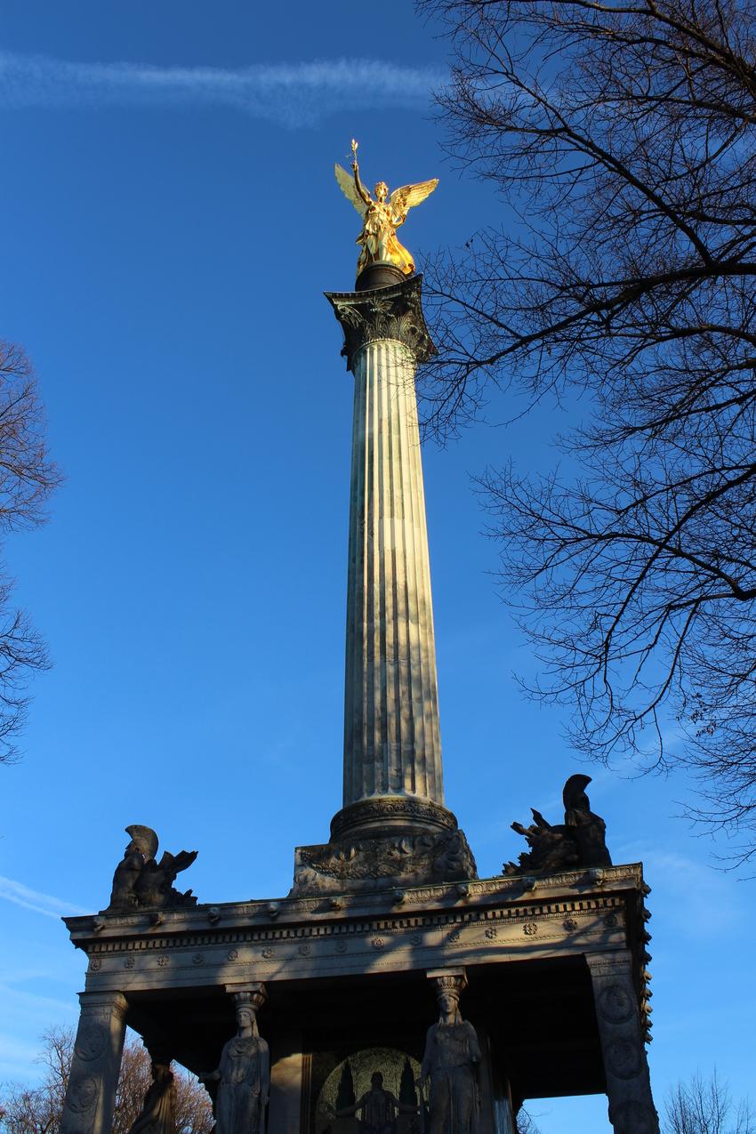 Friedensengel am Prinzregentenplatz