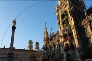 Rathaus mit goldenem Schnitt