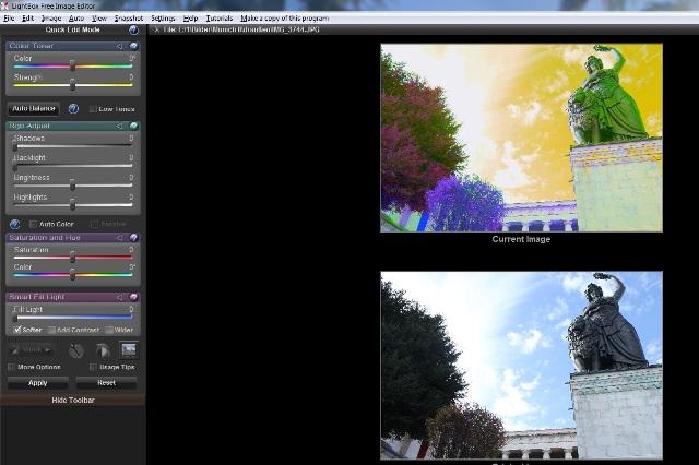 Lightbox Free Image Editor im Test