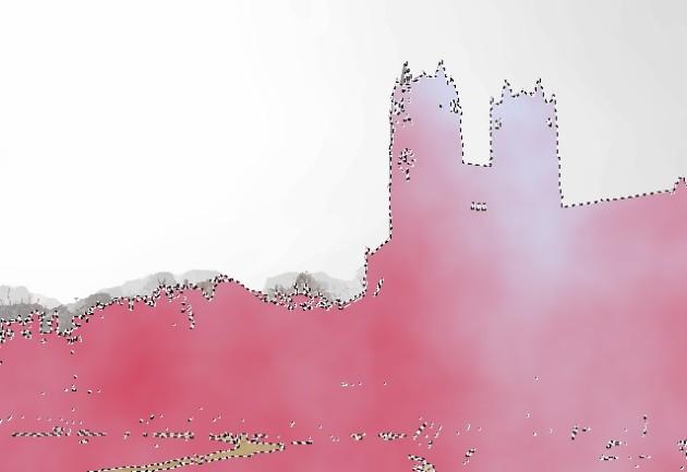 Paint.net Oberfläche mit Effekten