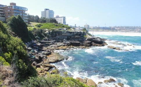 Ausblick auf Bondi Beach