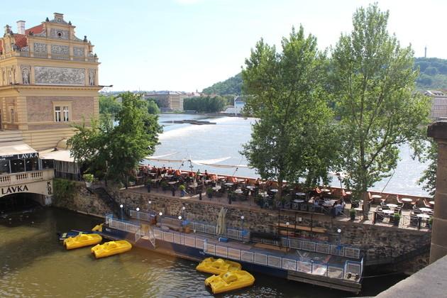 Restaurant an der Moldau