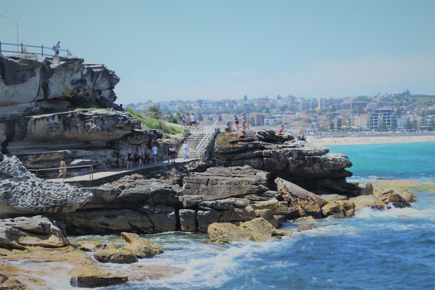 Bondi Beach Cliffs