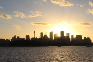 Sonnenuntergang Sydney 7JPG