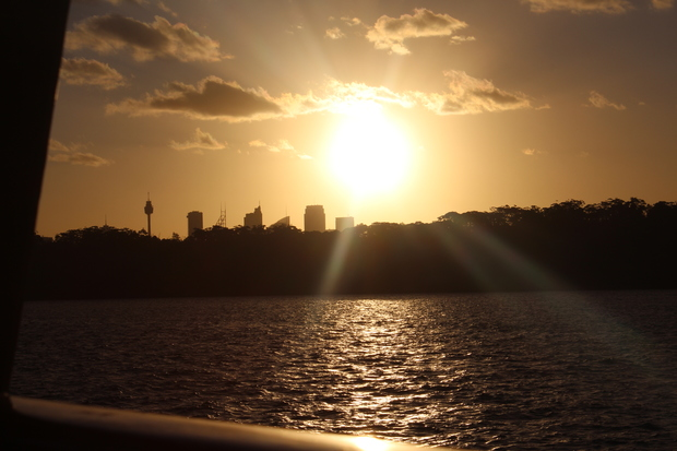 Sonnenuntergang Sydney in Manly