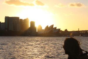 Sonnenuntergang mit Opera House