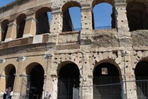 Kolosseum in Rom -Architektur