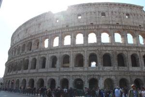 Kolosseum in Rom in seiner ganzen Pracht