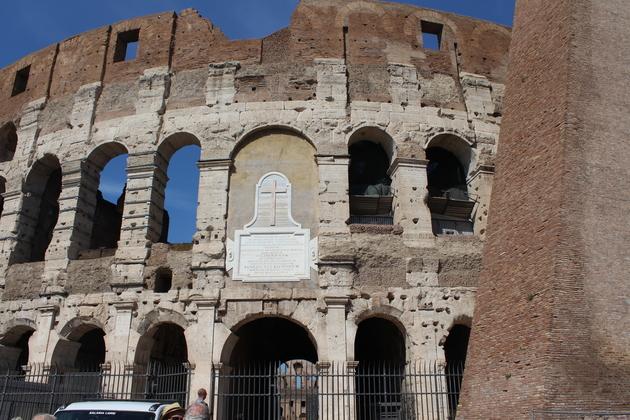 Kolosseum in Rom draußen