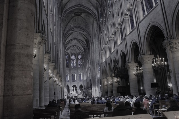 Das letzte Bild von Notre Dame