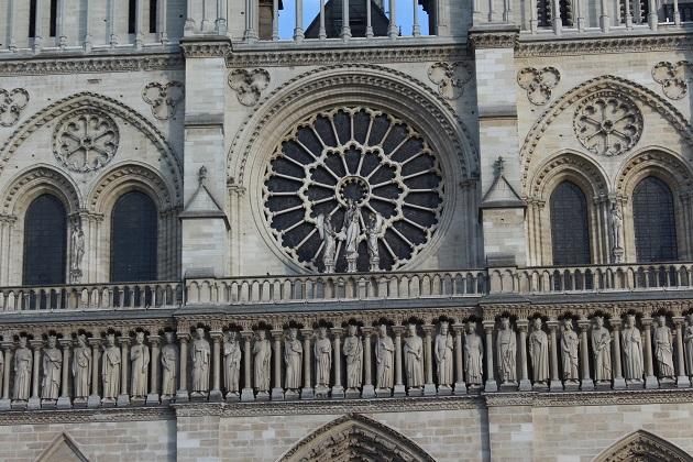 Notre Dame Nahaufnahme
