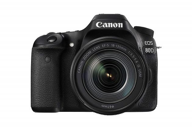 Canon EOS 80D SLR-Digitalkamera (24,2 MP, 7,7cm (3 Zoll) Display, Full HD, NFC und WLAN) schwarz