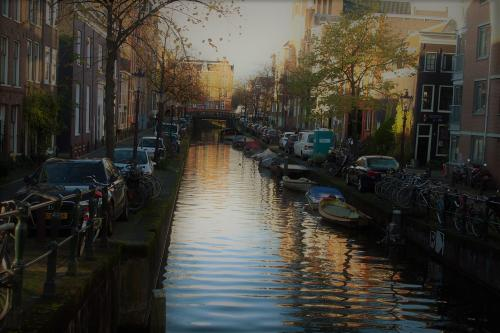 Herbsttag in Amsterdam